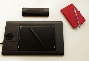 taille d'une tablette graphique